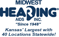 Midwest Hearing Aids Inc.. Since 1948. Kansas' Largest With 40 Offices Statewide